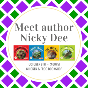 Meet authorNicky Dee