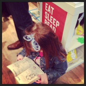 sophie reading