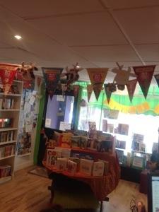 A proper bookshop!