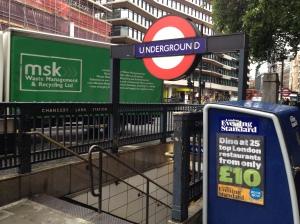 Chancery Lane Underground