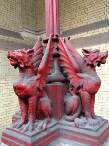 Dragons! Very cool - there are loads to be found if you look hard enough.