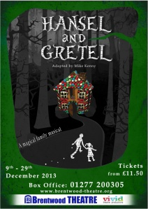 Hansel and Gretel Poster Final Sept 2013 small