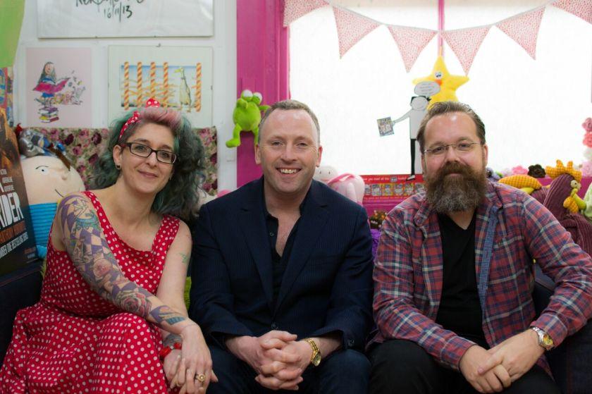 Natasha, Jonathan & Jim. Cheesy grins.