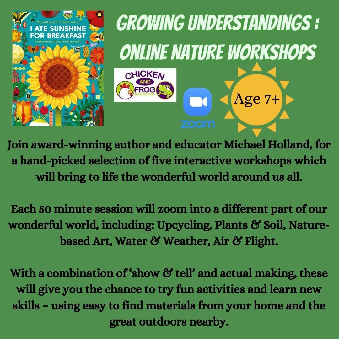 Growing Understandings Online Nature Workshops