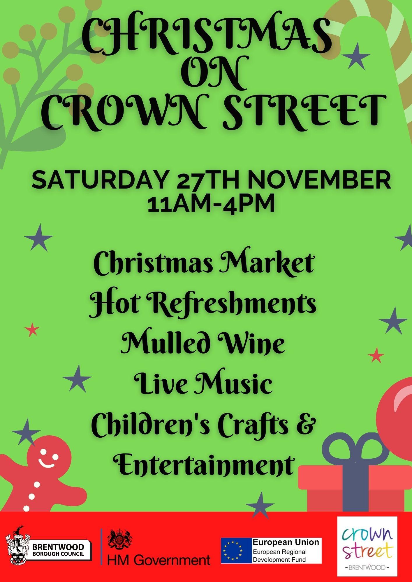 CHRISTMAS ON CROWN STREET