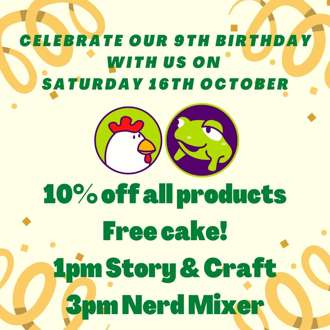 IT'S OUR BIRTHDAY WEEKEND!